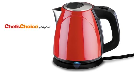 Chef's Choice Compact Kettle – Red
