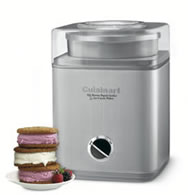 Cuisinart Pure Indulgence Frozen Yogurt/Ice-Cream/Sorbet Maker