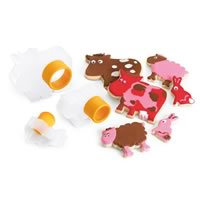 Cuisipro Farm Animal Cookie Cutters