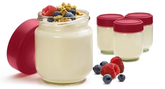 Cuisipro Leakproof Glass Jars