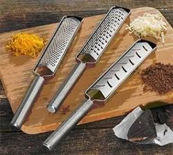 Cuisipro V Graters