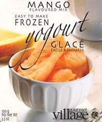 Frozen Mango Yogurt