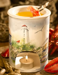 Gourment Village by the sea butter warmer
