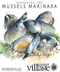 Mussels marinara seasoning by Gourmet du Village