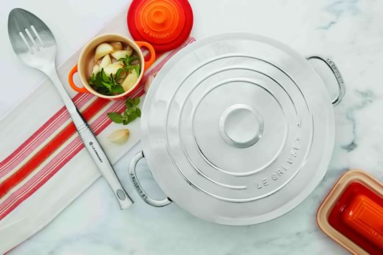 NEW Le Creuset Stainless Steel Cookware