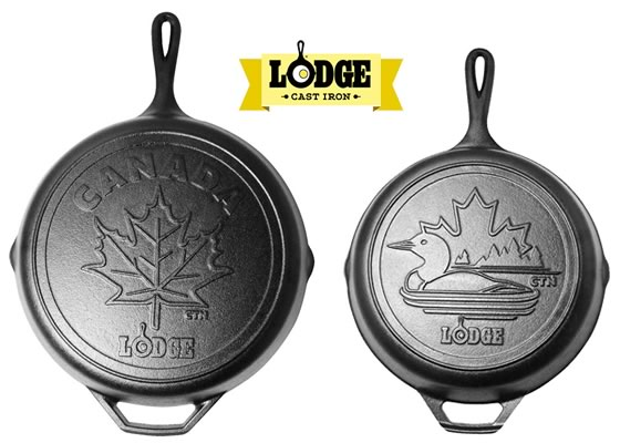 Lodge Cast Iron Canadiana Series