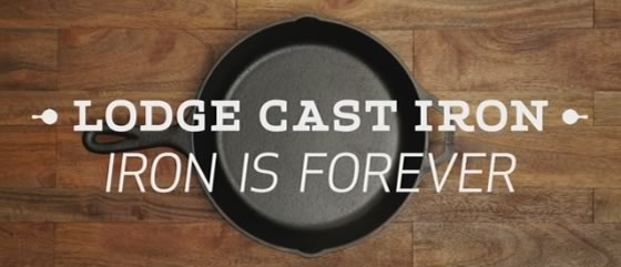 Lodge Cast Iron Is Forever