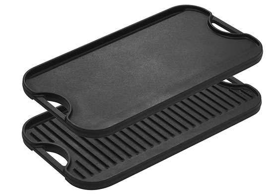 Lodge Cast Iron Reversible Grill / Griddle
