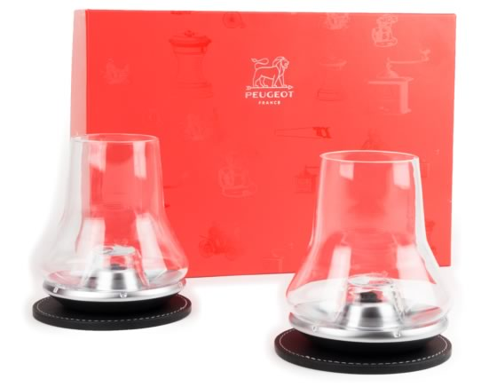 Peugeot Whiskey Tasting Set for two