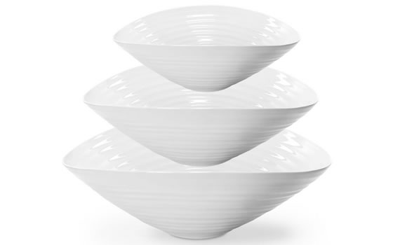 Sophie Conran 3 piece bowl set for serving salads