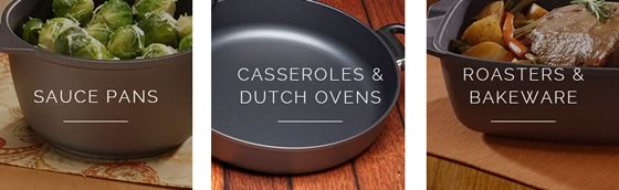 Swiss Diamond Nonstick Cookware, Made in Switzerland