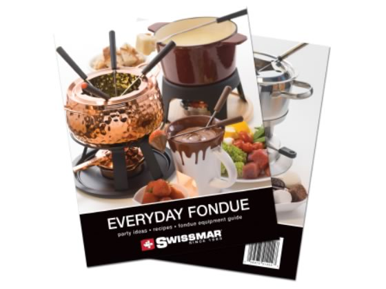 Everyday Fondue Recipe Book and Raclette Recipe Book