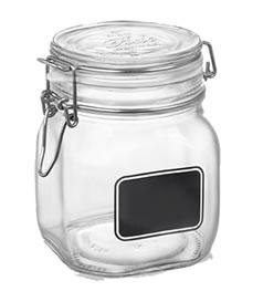 Trudeau Fido Chalkboard Jars