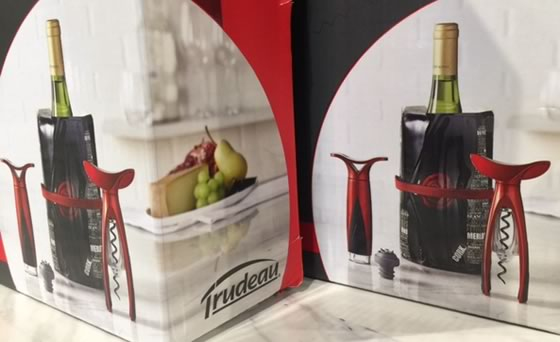 Trudeau Wine Accessories Set