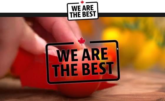 Leamington, Ontario is the tomato capital of Canada