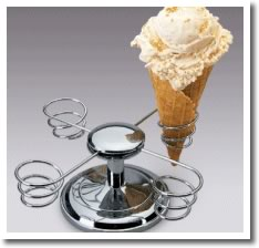 ice cream cone holder