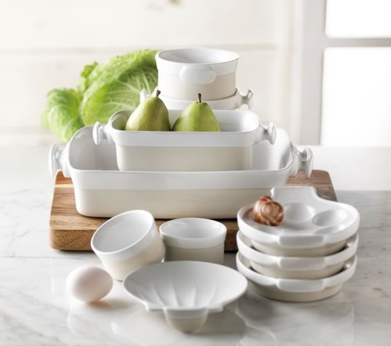 Casa Blanca Bakeware & Serveware from Trudeau