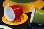 Bright, vibrant colours make any Emile Henry piece a kitchen accent